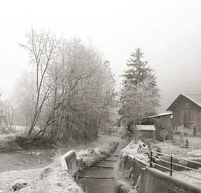 Frosty morning in LaHeutte