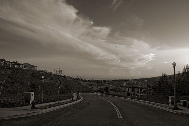 San Clemente evening clouds