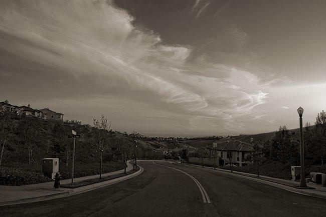 San Clemente eveningclouds