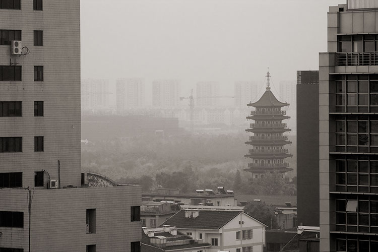 JiaXing Downtown Landscape