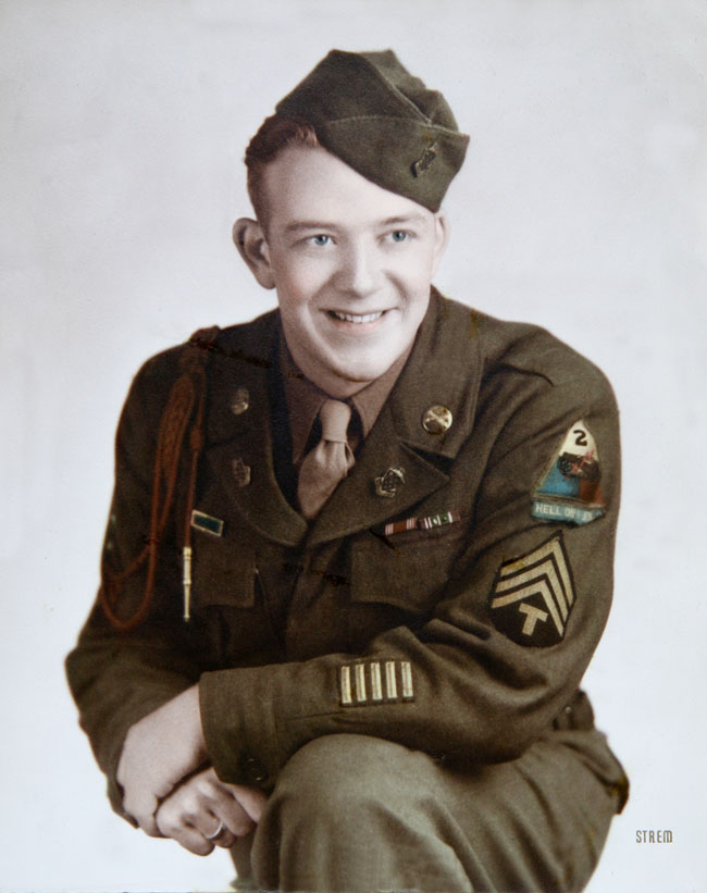 Sherman D Stockdale color portrait abt 1945_retouched 2013