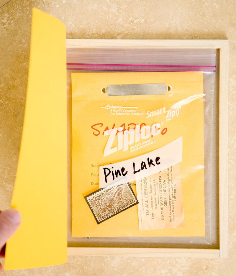 Douglas_Stockdale_Pine_Lake_interior_book_and_ephemera_L