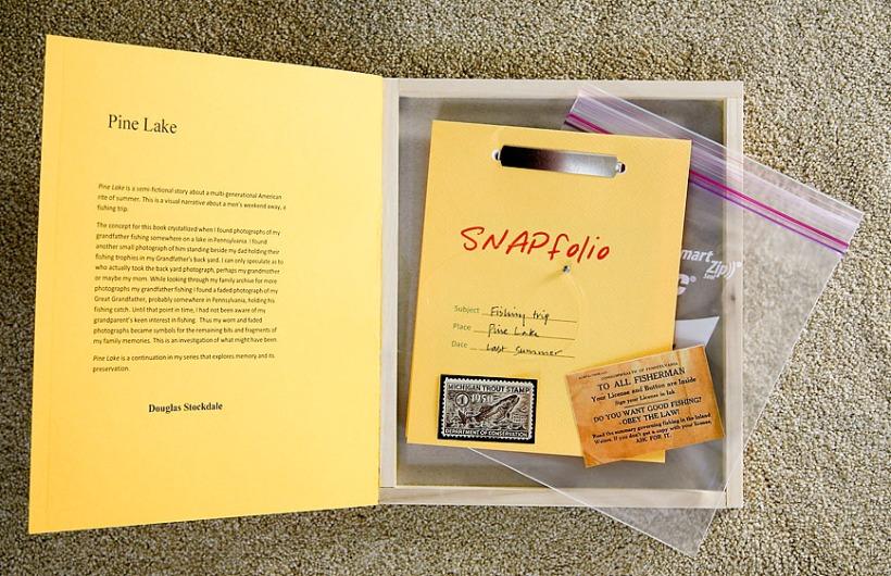 Douglas_Stockdale_Pine_Lake_interior_book_with_memorbilia_868x562