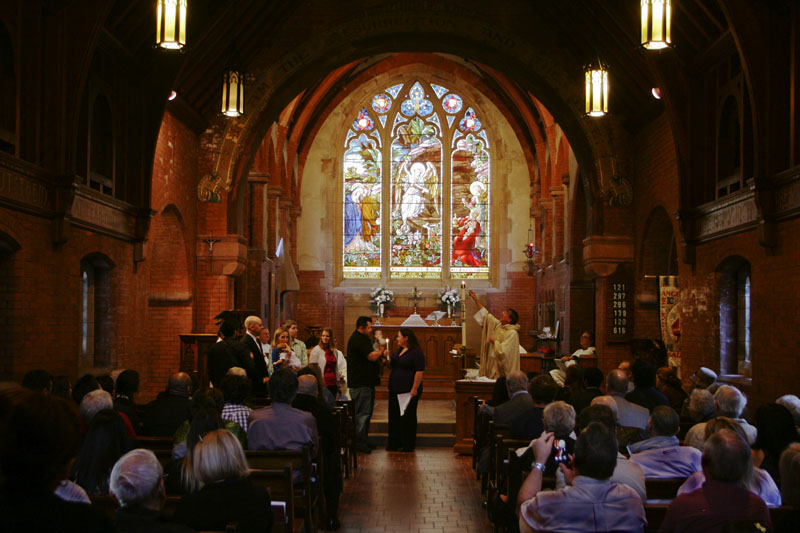 01-12-13 Mark Thomas baptism at Church of the Angels_5