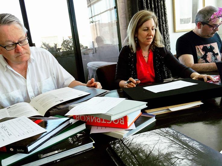 Marisa Caichioio - photobook competition judges Douglas Stockdale - Sarah Hadley - Chris Davies_1000px